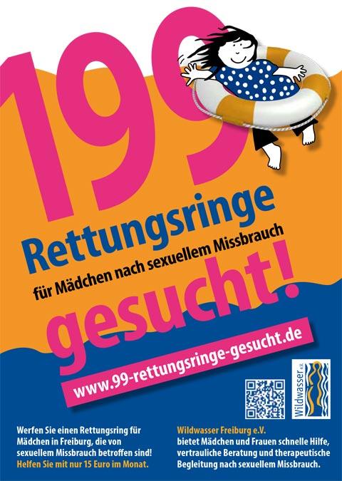 Wildwasser Freiburg - 199 Rettungsringe für Mädchen