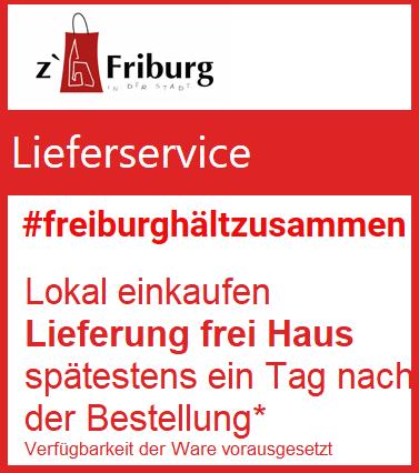 Freiburg hält zusammen - Lieferservice