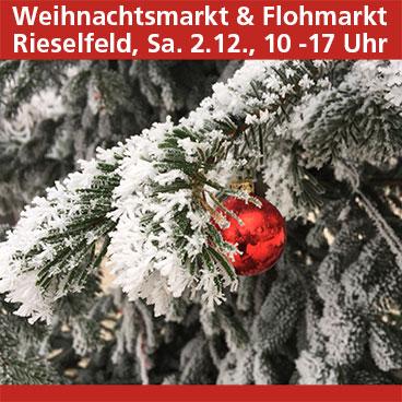 Weihnachtsmarkt im Rieselfeld