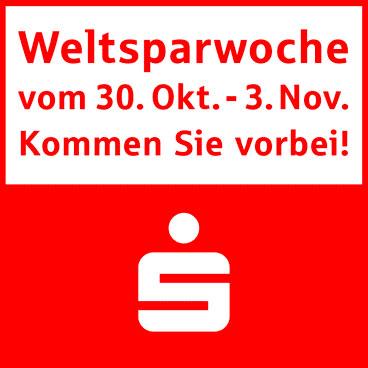 Weltsparwochen bei der Sparkasse Freiburg