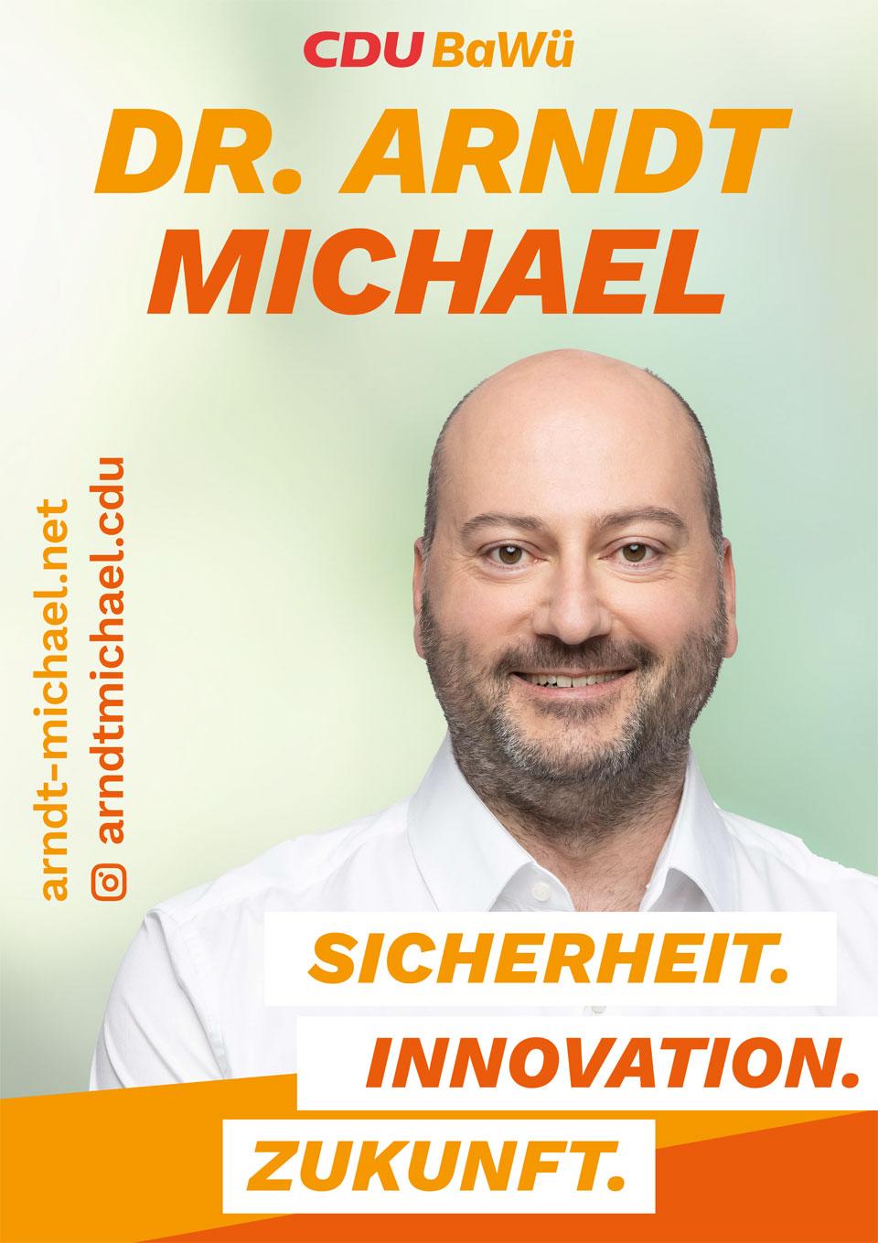 Dr. Arndt Michael - Landtagswahlen