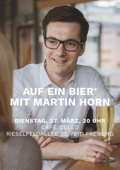 OB-Wahl Freiburg, Martin Horn