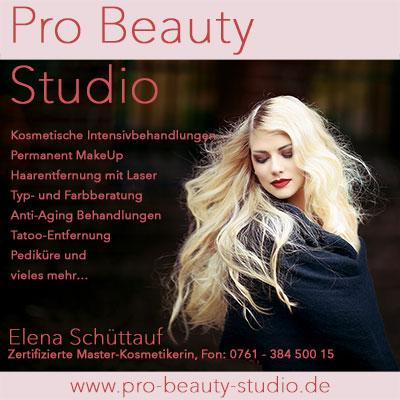 Pro Beauty Studio im Rieselfeld