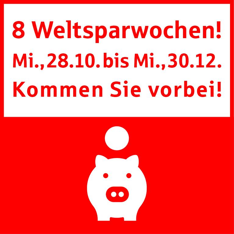 Weltsparwoche bei der Sparkasse Freiburg